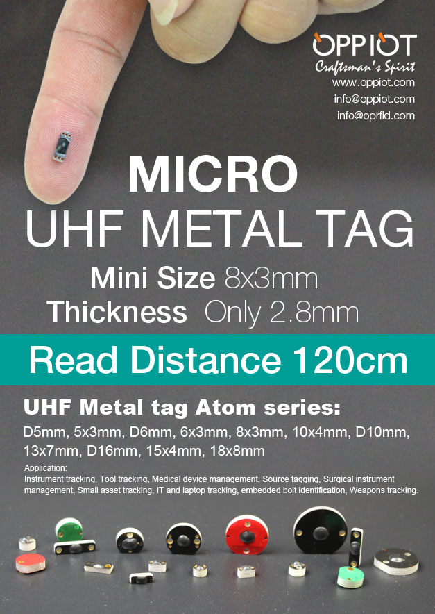 On Metal RFID Tags