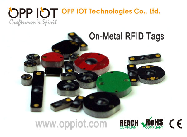 On-Metal passive RFID tags